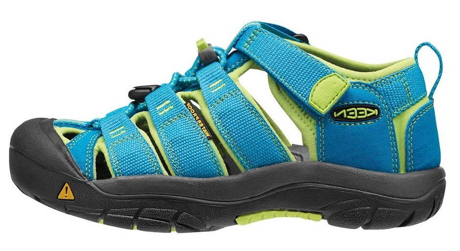 Obuv Keen Youth Newport H2 Hawaiian Blue Green Glow