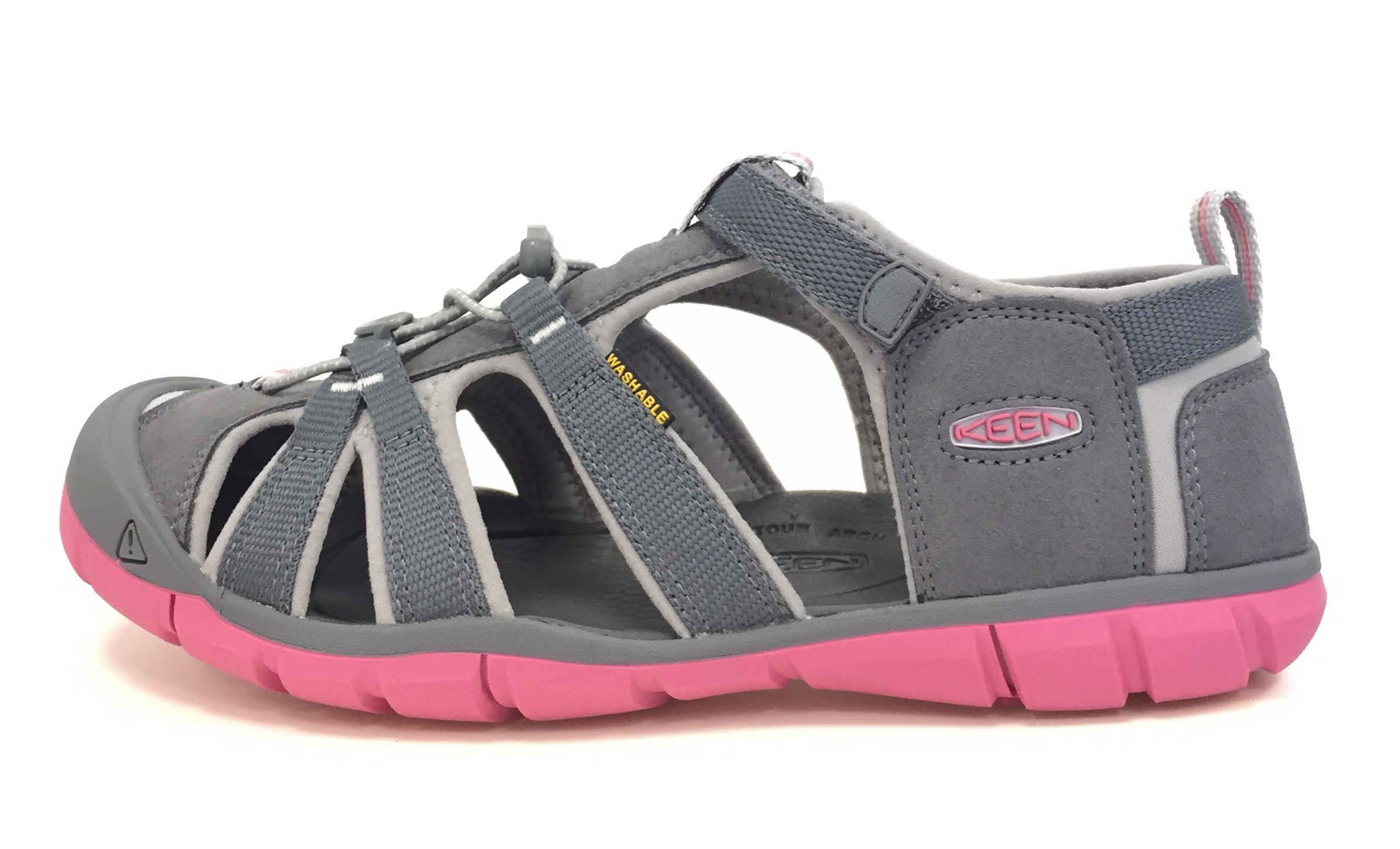 Obuv Keen Seacamp II CNX Steel Grey/Rapture Rose
